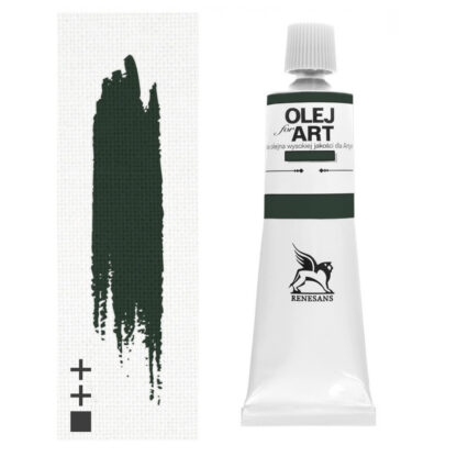 Масляная краска 43 Зеленый оливковый 60 мл Renesans Польша