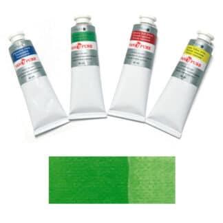 Масляная краска 60 мл 071 зеленая светлая Van Pure