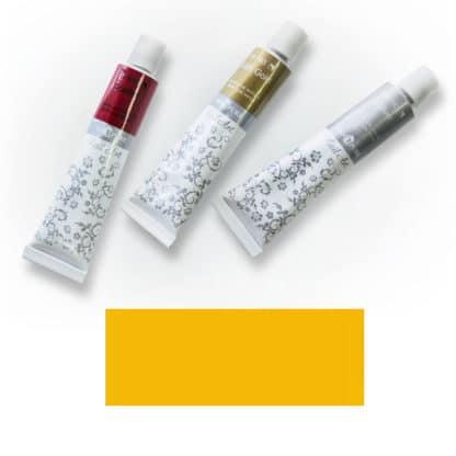 Акриловая краска Nail Art 12 мл 024 желтая темная Van Pure