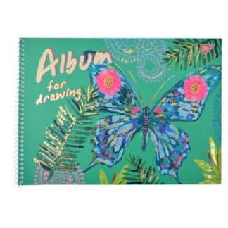 Альбом для рисования 20 листов А4  100гр. спираль  Yes 130382