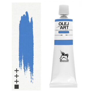 Масляная краска 31 Голубой средиземноморский 60 мл Renesans Польша