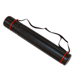 Тубус для черчения 8,5 см черный (60-110 см) JL-HT-604