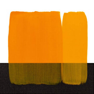 Акриловая краска Acrilico 200 мл 114 желтый темный стойкий Maimeri Италия