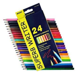 4120-24CB Карандаши акварельные 24 цв. «Superb Writer» Marco