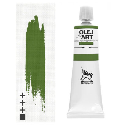 Масляная краска 75 Зеленый хром 60 мл Renesans Польша