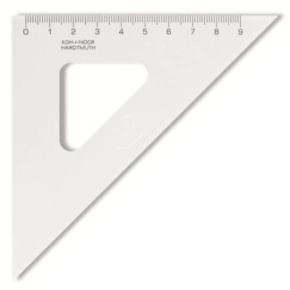 745398 Треугольник 45/113 прозрачный