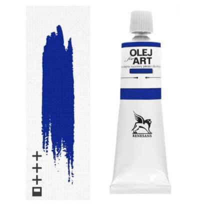 Масляная краска 32 Кобальт голубой светлый 60 мл Renesans Польша