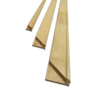 Планка для подрамника 45 см овал 40х17 Украина