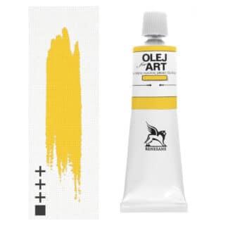 Масляная краска 06 Неаполитанский желтый темный 60 мл Renesans Польша