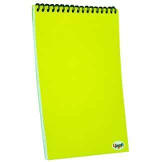 Блокнот «Color note» yellow А5 (14,8х21 см) 70 г/м.кв. 80 листов на спирали Profiplan