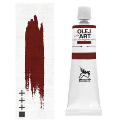 Масляная краска 76 Английская красная 60 мл Renesans Польша