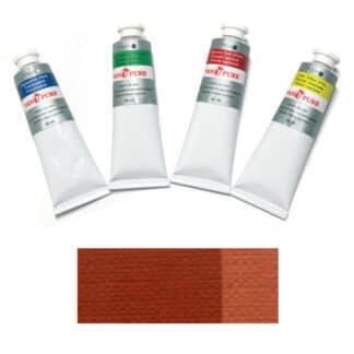 Масляная краска 60 мл 082 сиена жженая Van Pure