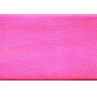 Бумага креповая розовая 50х200 см 35 г/м.кв. «Трек» Украина