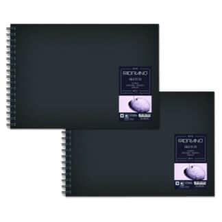28029660 Альбом для эскизов Sketch Book А3 (29,7х42 см) 110 г/м.кв. 80 листов в твердом переплете на спирали Fabriano Италия