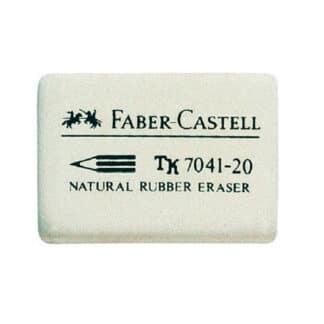 Ластик для карандаша белый Faber-Castell 7041-20