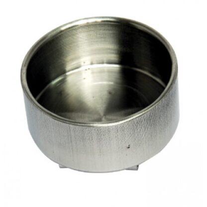 Масленка одинарная металлическая Ø 6,1х3,9 см (157103) D. K. ART & CRAFT
