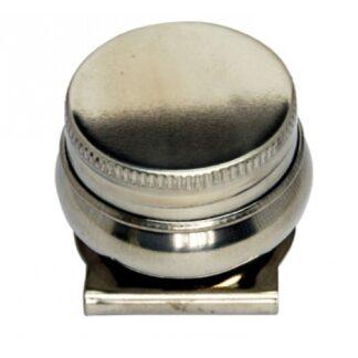 Масленка одинарная металлическая с крышкой Ø 4,2 см (11006) D. K. ART & CRAFT