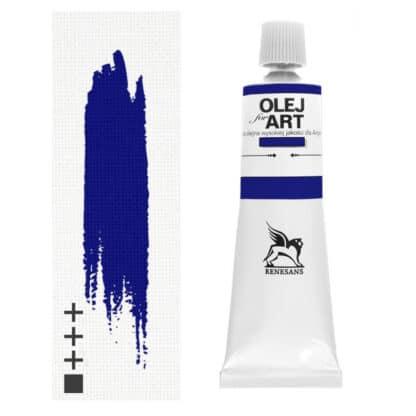 Масляная краска 33 Кобальт голубой темный 60 мл Renesans Польша