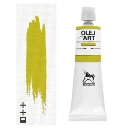 Масляная краска 07 Желтый цинковый 60 мл Renesans Польша