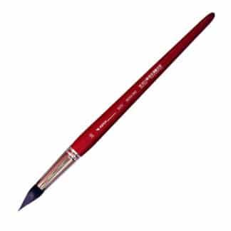 Кисточка «Автор» 5072 Белка имитация круглая №20 короткая ручка красная АртАвангард