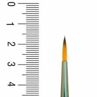Кисточка 1097R Синтетика круглая №01 короткая ручка Renesans
