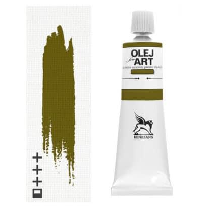 Масляная краска 71 Зеленый сочный 60 мл Renesans Польша