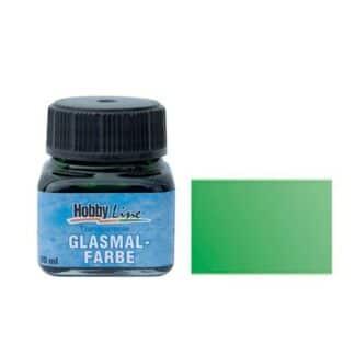 Краска для стекла лаковая прозрачная 45205 Зеленая 20 мл Hobby Line C.KREUL