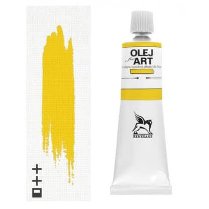 Масляная краска 08 Ультрамарин желтый 60 мл Renesans Польша