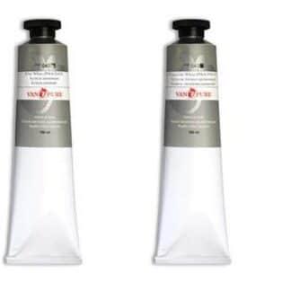 Масляная краска 180 мл 042 белила цинковые Van Pure