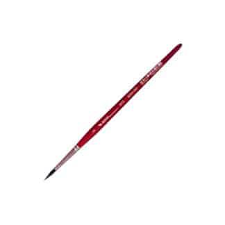 Кисточка «Автор» 5072 Белка имитация круглая №05 короткая ручка красная АртАвангард