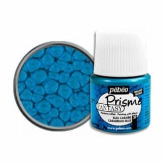Краска лаковая Fantasy Prisme 039 Синий карибский 45 мл Pebeo