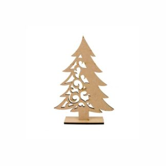 Заготовка деревянная «Елка» ажурная 20см  МДФ  Rosa Talent