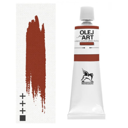 Масляная краска 80 Марс оранжевый 60 мл Renesans Польша