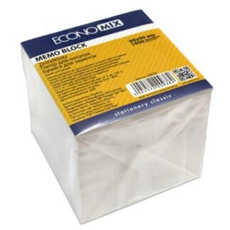 Блок бумаги для заметок 90х90 мм 1000 листов белый Economix Украина