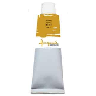 Масляная краска 061 Охра желтая 100 мл Академия