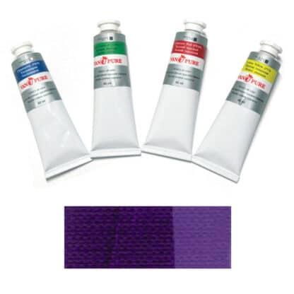 Масляная краска 60 мл 091 фиолетовая Van Pure