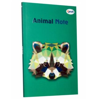 Блокнот «Animal note» green А5 (14,8х21 см) 70 г/м.кв. 80 листов склейка Profiplan