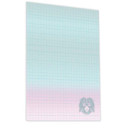 Блокнот «Animal note» mint В6 (125х176 мм) 70 г/м.кв. 80 листов склейка Profiplan