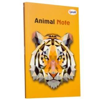 Блокнот «Animal note» orange А5 (14,8х21 см) 70 г/м.кв. 80 листов склейка Profiplan