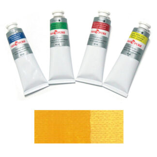 Масляная краска 60 мл 024 желтая темная Van Pure