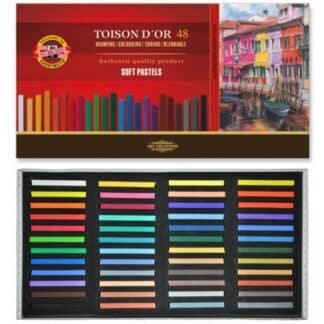 Набор сухой мягкой пастели  48 цветов 8516 Toison Dor