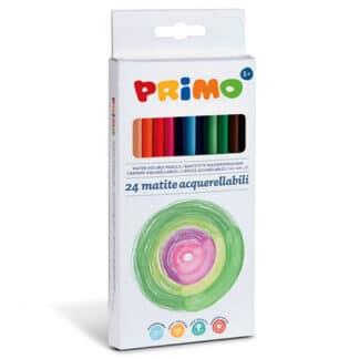 Набор акварельных карандашей Minabella 24 цвета в картонной коробке Primo Италия