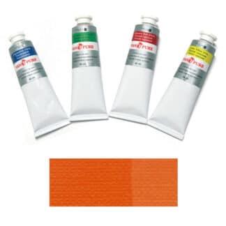 Масляная краска 60 мл 026 оранжево желтая Van Pure