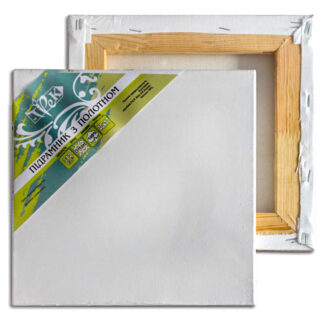 Холст белый хлопок (Италия) на подрамнике планка 40х17