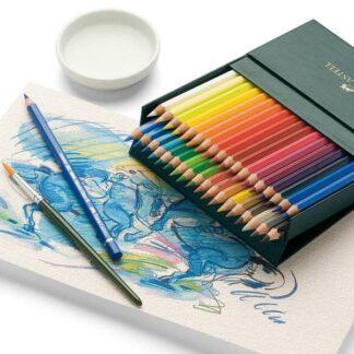Наборы акварельных карандашей