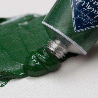 Масляная краска Мастер-класс 46 мл 738 Английская зеленая темная ЗХК «Невская палитра»