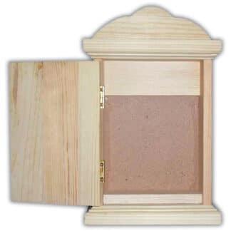 Заготовка деревянная «Ключница» №14 150/130х240/200х50 мм сосна 2,014с