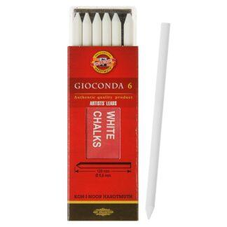 Мел Gioconda 4371 5,6 мм Белый для рисования Koh-i-Noor