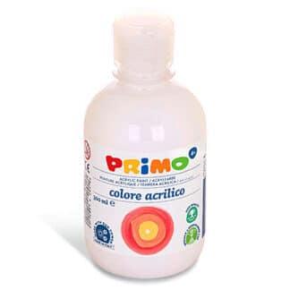 Акриловая краска 300 мл 100 белый Primo Италия