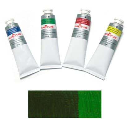 Масляная краска 60 мл 106 зеленая желчная Van Pure